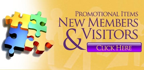 Promotional Items for New Members