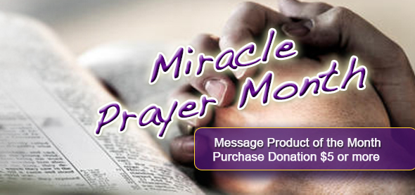 miracle of the month-product of the month